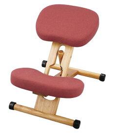 【あす楽対応】プロポーションチェア 本体<ローズ> 姿勢がよくなる椅子