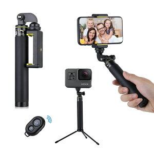 スマホ Bluetooth リモコンシャッター 自撮り シャッター iPhone Android 各種スマホ対応 GoPro camera 対応 リモコン 自撮り ワイヤレスリモコン スマホ三脚 スマホ自撮り棒 セルカ棒 シャッター付き