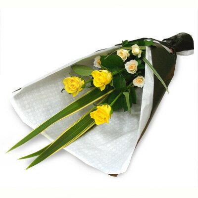 花 【フロレアル】ラインブーケ Sサイズ(6色から選べます!)【あす楽対応】【楽ギフ_包装】【楽ギフ_メッセ入力】花束 ブーケ 誕生日 お祝い 御祝 歓迎 送別 バラ プレゼント フラワー ギフト