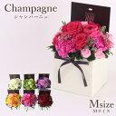 花 ギフト 誕生日【フロレアル】シャンパーニュ M(6色から選択!)≪長持ちする上質な お花≫楽天1位 あす楽 送料無…