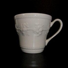 ウェッジウッドマグカップ【ウェッジウッド】(WEDGWOOD)フェスティビティ アイボリーマグカップ【結婚祝】【出産祝】【退職祝】【引越祝】【還暦祝】【記念品】