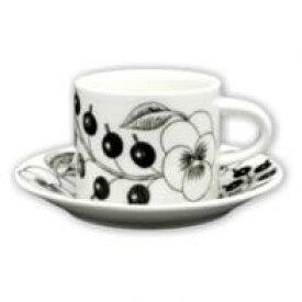 【アラビア】ブラックパラテッシ コーヒーカップ/ソーサーアラビア 食器【結婚祝】【出産祝】【退職祝】【引越祝】【還暦祝】【記念品】