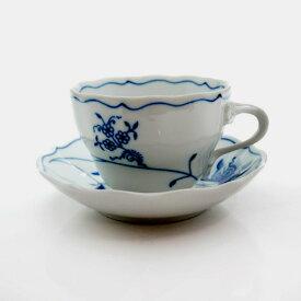 【カールスバード】ブルーオニオン ECO コーヒーカップ/ソーサー 210cc【結婚祝】【出産祝】【退職祝】【引越祝】【還暦祝】【記念品】