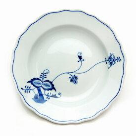 【カールスバード】ブルーオニオン ECO スーププレート 24cm【結婚祝】【出産祝】【退職祝】【引越祝】【還暦祝】【記念品】