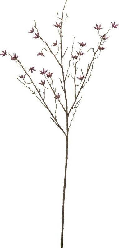 アートフラワー スターアニスブランチ バーガンディー @260x14コセット FG-4928 BUR 《2018ds》| 造花 お手入れ不要 秋 オータム アレンジ 花材 ブーケ シック