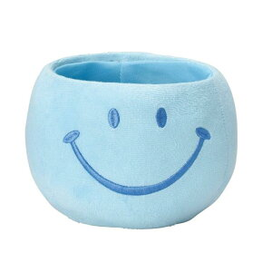 ふわふわスマイルポットM ブルー 6個セット 4516-A-BL 2021green | 鉢 鉢カバー アレンジメント フラワー グリーン スマイル ふわふわ ディスプレイ ギフト