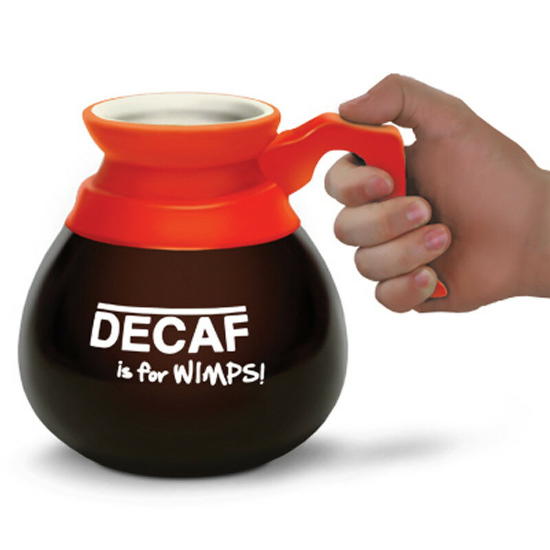雑貨 マグカップ Decaf is for Wimps! BMT-BM-BMMU-DM 《2018sono》 | 輸入 おしゃれ かわいい プレゼント グッズ 小物 インテリア ホビー ポップ おもしろ
