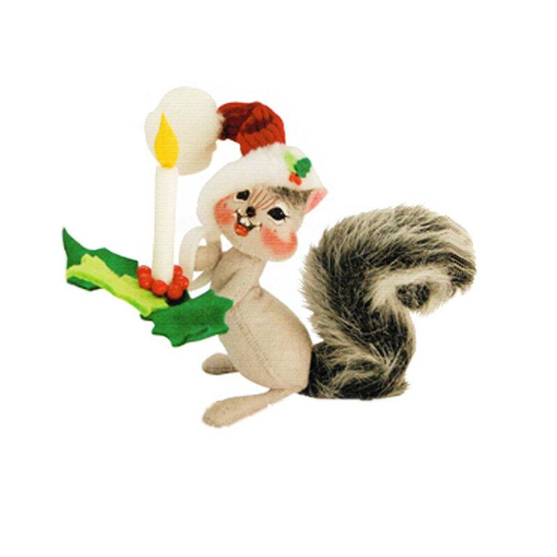 雑貨 Annalee Dolls アナリードール 6 Holly Berry Squirrel 750515 《2018sono》 | 輸入 おしゃれ かわいい プレゼント グッズ 小物 ホビー ポップ おもしろ