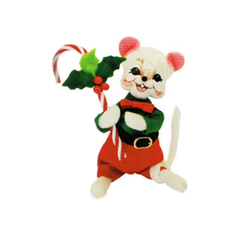 雑貨 Annalee Dolls アナリードール 6 Holly Berry Boy Mouse 600615 《2018sono》 | 輸入 おしゃれ かわいい プレゼント グッズ 小物 ホビー ポップ おもしろ