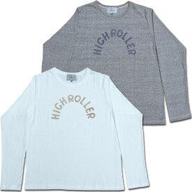 【メール便可】D.M.G ドミンゴ DMG 19-020N ループウィールロングTEE ロンT プリント Tシャツ カットソー Loop Wheel 長袖 クルーネック Made in JAPAN 日本製 10P03Dec16