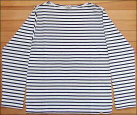 D.M.G ドミンゴ DMG 19-068N 91-8 ボートネックシャツ ホワイト×ブラック バスクシャツ ボーダー カットソー バスクT ロンT BD天竺 MadeinJAPAN 日本製