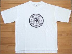 メール便 Quand クアンド 天竺プリントTシャツ U.C.S.W.A ホワイト TEE カットソー 半袖 nappalm ナップパーム 201947604