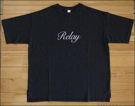 メール便可 Quand クアンド 天竺プリントTシャツ Relay チャコールブラック TEE カットソー 半袖 nappalm ナップパーム 203947679