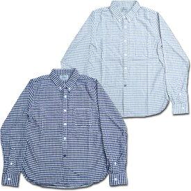 D.M.G ドミンゴ DMG 16-347X ギンガムチェック ボタンダウンシャツ オリジナルオックス 長袖 オックスフォード BD Made in JAPAN 日本製 10P03Dec16