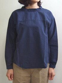 Brocante ブロカント ドミンゴ 36-103X 29-2 トレットマンシャツ ネイビー バックボタン ヴィンテージシャンブレー コットンタイプライター 切替 長袖 MadeinJAPAN 日本製