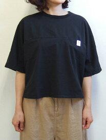 Brocante ブロカント ドミンゴ 36-156Z 19-7 ヨギープルオーバー シャツ ブラック ブラウス ヨギーツイル 綿 コットン MadeinJAPAN 日本製 倉敷 児島