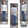 D.M.G Domingo DMG 13-884D 28-4 5 p skinny fit denim pants iSKO REFORM XP jeans SKINNY FIT stretch blast Made in JAPAN made in Japan P11Sep16