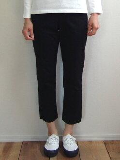 D.M.G MadeinJAPAN made in Domingo DMG 14-044T 19-9 tapered trouser underwear black Chino stretch ankle cut tapered Kojima, Kurashiki Japan