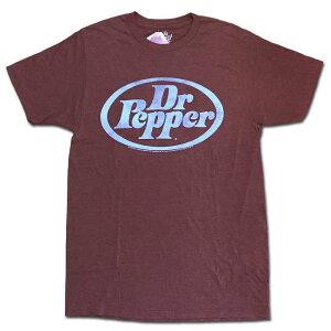 メール便 Tee Luv ティーラヴ Tシャツ DR.PEPPER RED LOGO TEE レッド ドクターペッパー プリントT カットソー 半袖 30508