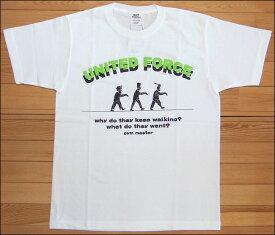 【メール便可】gym master ジムマスター UNITED FORCE Tee Tシャツ ホワイト ゾンビ ZOMBIE カットソー 半袖 G279649