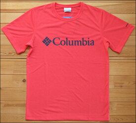 メール便可 Columbia コロンビア Urban Hike Short Sleeve Tee アーバンハイクショートスリーブTシャツ Red Coral アウトドア PM1515