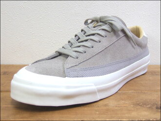 Kurume, Fukuoka made in Asahi Asahi shoes BELTED LOW SUEDE M020 GRAY Grace Wade leather sneakers MadeinJAPAN Japan