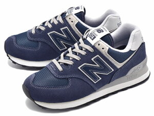 【WOMEN】 new balance ニューバランス WL574EN NAVY ネイビー ランニングシューズ スニーカー Shoes