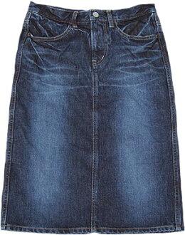 D.M.G [Domingo DMG] 17-159 A (28-2) 4 P denim skirt
