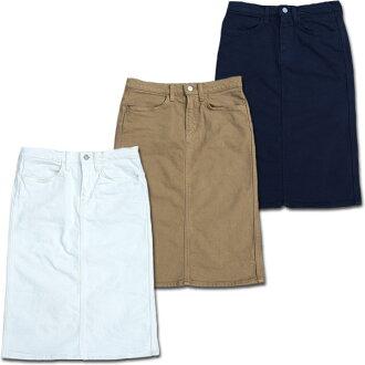 D.M.G Domingo DMG 17 - 341A4P skirt cotton katsuragi stretch knee-length tight 10P10Jan15