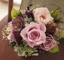 【送料無料】デリーラ/プリザーブドフラワー プリザ ギフト 送料無料 お返し 敬老の日 内祝い 花 バラ ギフト 母の日 内祝い 誕生日 結…