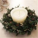 エバーグリーン・リース/枯れないお花プリザーブドフラワーのアレンジです。リースの贈り物。お誕生日・お祝いに・誕生日,結婚祝い,新…