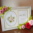 プリザーブドフラワー 写真たて/【結婚祝い】フォトスタンド/フォトフレーム/写真立て/【フラワーギフト】母の日,敬老の日,内祝い,花,…