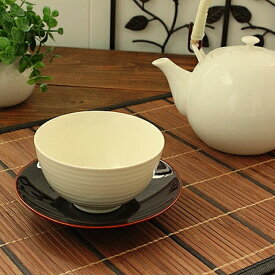 アイボリー ライン煎茶(和食器 白い食器 カップ 湯呑み 煎茶 業務用 業務用食器 アウトレット 多治見美濃焼 日本製)
