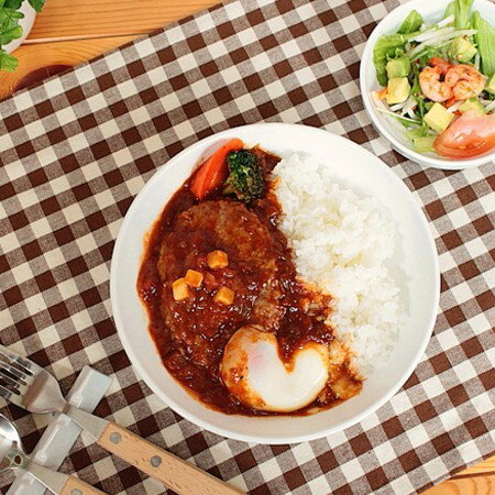 『強化磁器』女性・お子様用カレー皿【洋食器・白い食器・アウトレット込み・ダイエットカレー皿・強化磁器・多治見美濃焼・日本製】
