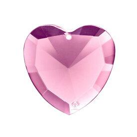 リヒトウェーゼン エロヒムのピンクの光 No.57 ハート型クリスタル[リヒトウェーゼン/LichtWesen/クリスタル/ハート/アクセサリー正規輸入品/ドイツ]