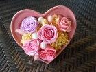 ピンクハートプリザ(陶器),プリザーブドフラワー,枯れないお花,ピンク,ハート型,バラ,あじさい,記念日,結婚,お誕生日,プレゼント,ギフト,贈りもの,ご夫婦,カップル,恋人,彼女,新宿,四谷,花屋,シャムロック,楽天市場