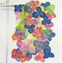 【訳アリ商品・アウトレット】F−23 押し花 着色アジサイ 50枚入り花材 押し花素材 お花屋さん 押し花額 押し花材…