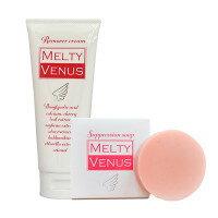 メール便送料無料 MELTY VENUS メルティーヴィーナスサプレッションソープ/せっけん ムダ毛処理 むだ毛対策 美容 ボディケア スキンケア