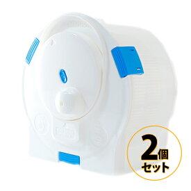 電気を使わない手動ポータブル洗濯機 ハンドウォッシュスピナー セントアーク CENTARC 2個セット 送料無料/手動洗濯機 小型洗濯機 節電 節水 災害時 アウトドア 停電時 キャンプ 登山