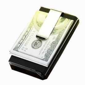 送料無料 GREEDカード収納付きマネークリップ/開運 金運 幸運 ラッキーアイテム 財布