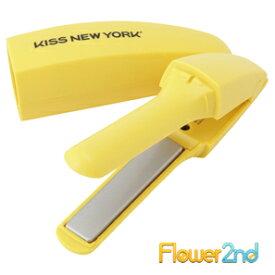 バナナヘアアイロン KISS NEW YORK FIM2JP1Y イエロー/美容家電 ヘアケア ヘアエステ ヘアアイロン コテ ストパー ストレートヘアアイロン
