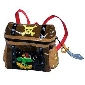 パイレーツバッグ 子供リュック 宝箱 Kidorable(キドラブル)パイレーツ 海賊のバックパック 遠足 ハイキング かわいい ポケット付 カワイイ プレゼント ギフト 誕生日プレゼント