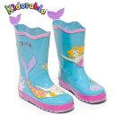 Kidorable(キドラブル)女の子 キッズ長靴 かわいい人魚 マーメイド レインブーツ子供長靴 カワイイ プレゼント ギフトサービス…