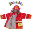 消防士 インポート レインコート Kidorable(キドラブル) ファイヤーマン ファイヤーエンジン 消防車 レインコート【軽量高級素材…