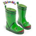 キドラブルKIDORABLE カエル長靴 インポート長靴 子供 キッズ ゴム製長靴 Kidorable レインブーツ14cm 15cm 16cm 17cm 18cm 19c…