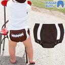 フットボール ベビーブルマ おむつカバー RUGGED BUTTS(ラゲッドバッツ)Football Bloomer男児ブルマ 3-6ヶ月(65cm)/6-12ヶ月(75c…