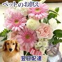 【あす楽12時】ペットへ贈るお供えアレンジ【ペット専用】ペットロス 癒しのアレンジメント【ペット供養】ペットのお…