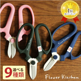 The fluoric resin processing /FKKS Kyoto material which flower scissors good design Prize with the winning shop of the Year, flower genre award memory or cat POS shipment Hill source hand creation F170 170mm F-170 gardening flower scissors point of a swo