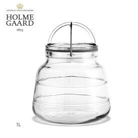 【あす楽】ホルムガード スカーラジャー 1L (雑貨)【送料込み】Hormgaard scala 1L ストレージジャー 保存瓶 キッチン雑貨 おしゃれ 北欧 シンプル 玄関 リビング ダイニング 店舗用 ディスプレイ用 FKRSL