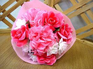 【ミニブーケ 造花 4個セット】/花/フラワーギフト/結婚祝い/誕生日/退職祝い/歓迎/送迎/記念日/花束/還暦/お祝い/卒業式/卒園式/造花/ミニブーケ